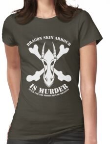 Dragon Armour Is Murder  Womens Fitted T-Shirt