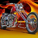 Red Chopper E by DaveKoontz
