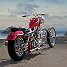 Red Chopper C by DaveKoontz