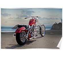 Red Chopper C Poster