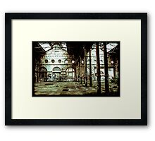Empty? Framed Print