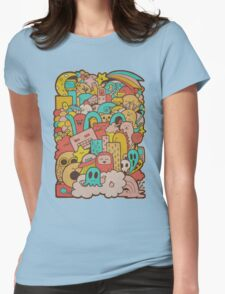 Doodleicious Womens Fitted T-Shirt