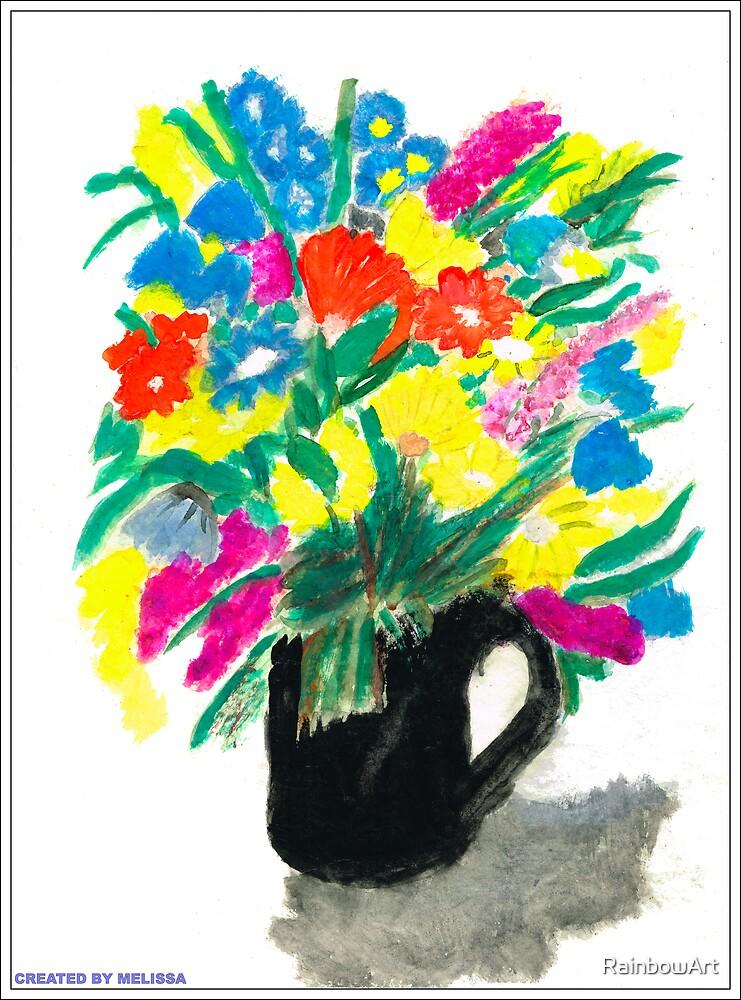 SUMMER FLOWERS by RainbowArt