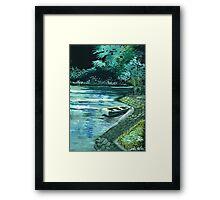 Dream Lake Framed Print
