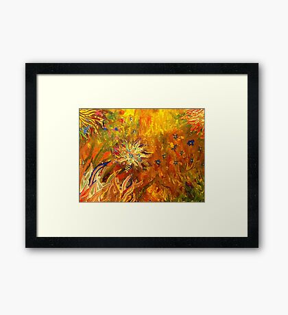 Synesthesia - iPhone Case Framed Print