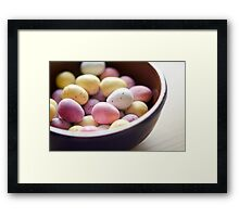 All Your Eggs in My Basket Framed Print