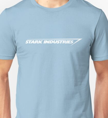 Stark Industries : White Unisex T-Shirt