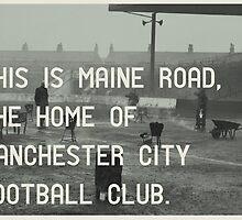 Manchester City Football Club by homework