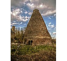 Walkers Pottery West Bottle Kiln Photographic Print