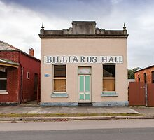 Billiards Hall, Chiltern by Natalie Ord