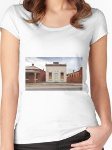 Billiards Hall, Chiltern Women's Fitted Scoop T-Shirt