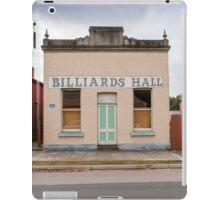Billiards Hall, Chiltern iPad Case/Skin