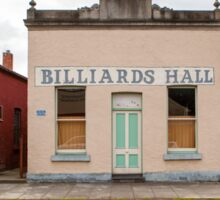 Billiards Hall, Chiltern Sticker