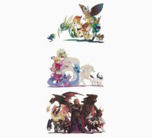 Zelda Pokemon Teams by Hunter-Blaze