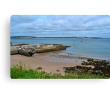 Priory Bay, Caldey Island Canvas Print