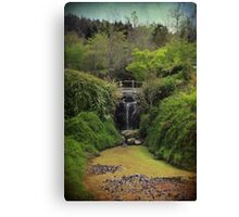 When Too Many Tears Have Fallen Canvas Print