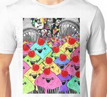 Cake Flood Collage Unisex T-Shirt