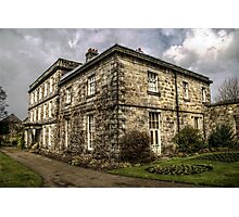 Hexham House Photographic Print