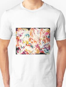 Colorful Psychedelic Art  Unisex T-Shirt