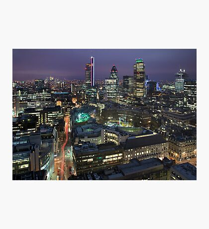 London City Photographic Print
