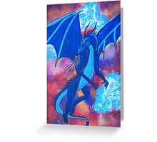 Wind Rider Greeting Card
