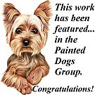 Painted Dogs Group 'featured' banner by Margaret Sanderson