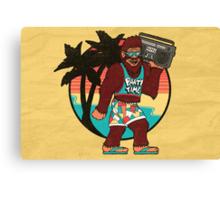 Bigfoot on Vacation Canvas Print