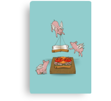 Make Me A Sandwich Canvas Print