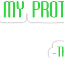 Under My Protection Sticker