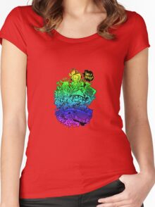Have it your way - rainbow. Women's Fitted Scoop T-Shirt