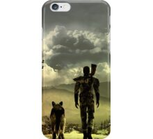 Fallout great shade wasteland view iPhone Case/Skin