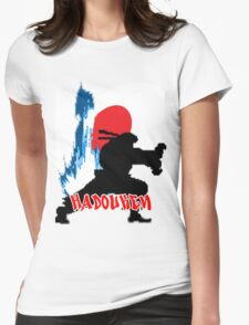 hadouken in japan Womens Fitted T-Shirt