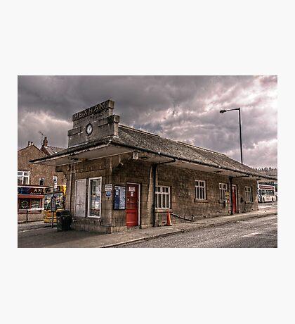 Bus Station Photographic Print