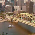 yellow bridge by Lex Lucera