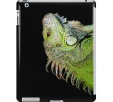 Iguana portrait iPad Case/Skin