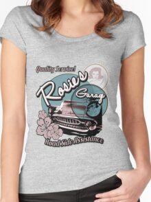 Rosie's Garage Women's Fitted Scoop T-Shirt