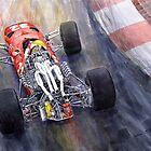 Ferrari 312 F1 1967 by Yuriy Shevchuk