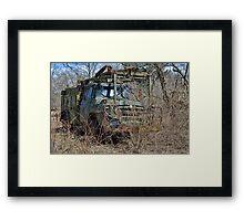 old military vehicle? Framed Print
