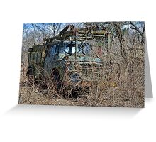 old military vehicle? Greeting Card