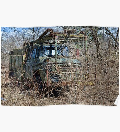 old military vehicle? Poster