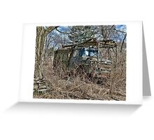 old military vehicle 2? Greeting Card