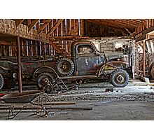 old dodge truck2 Photographic Print