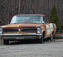 old Pontiac by Kathleen Small Wilkie