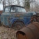 old Ford truck by Kathleen Small Wilkie