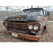 old Ford truck2 Photographic Print