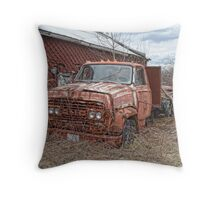 old GMC truck Throw Pillow