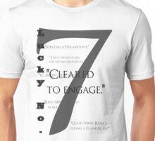 Lucky no. 7 Unisex T-Shirt