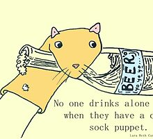 Sock Puppet by Lara Beth Carter