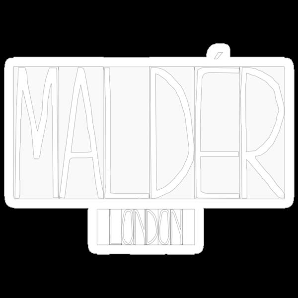 """MALDÉR """"90's"""" Tee by MALDÉR London"""
