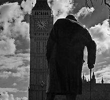 Churchill & Big Ben by JMChown